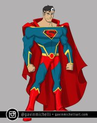 Animated Superman Design by GavinMichelli