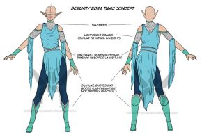 Serenity Zora Tunic Reference Sheet by StoneyAshes