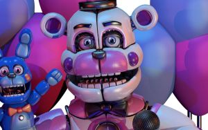 Funtime Freddy Raw render by Chridder