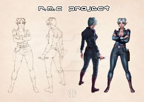 R.M.C project - concept of the captain by CristianoReina