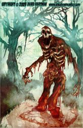 SWAMP BLOOD TERROR BY Hartman by sideshowmonkey