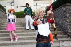 Team JNPR by FuzzyRedPants