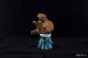 [Garage kit painting #16] The Thing bust - 003 by DasArt