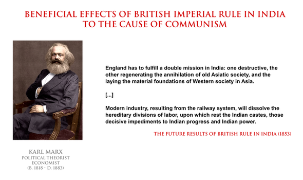 Karl Marx - British rule in India by YamaLama1986