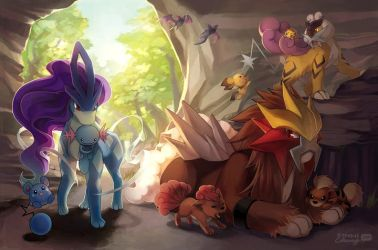 PKMN: Legendary Beasts by finni
