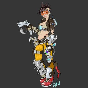 Tracer from Junkertown by OrcBoozer