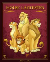 House Lannister by fangirl-art