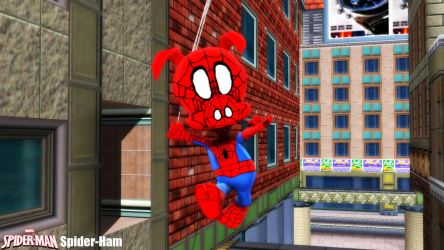 (MMD Model) Spider-Ham Download by SAB64
