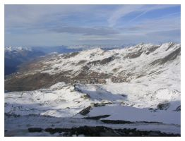 Val Thorens in autumn by dbug