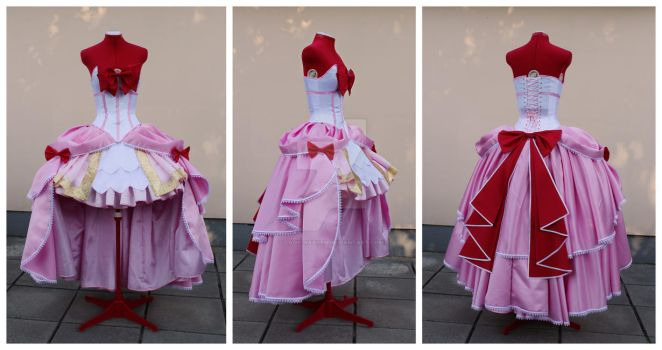 Rococo Chibimoon cosplay set details by lady-narven