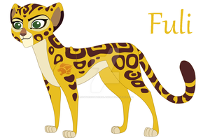Fuli-fastest by LiontheNorthernlands
