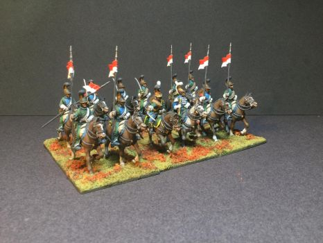 Napoleonic French Line Lancers by fiend-upon-my-back