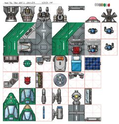 NTC Spacecraft Tileset by AriochIV