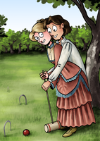 Croquet by pinearts