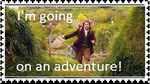 I'm going on an adventure! (stamp) by I-AM-TIMLORD