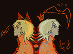 Double Seras by BarriShved