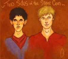 Two Sides of the Same Coin by none-of-the-sort