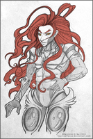 Xenogears: Id by TouchedVenus