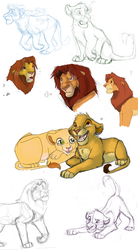 Simba Sketcher Dump by RogueLiger