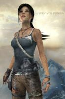 Poster - TOMB RAIDER 2013 by AlexCroft25