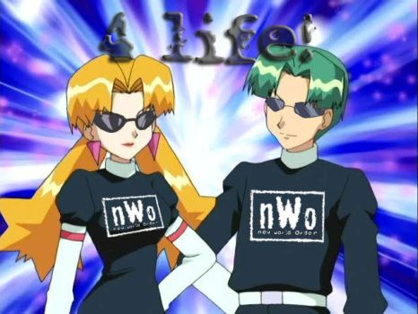 Butch and Cassidy nWo 4 life by Famardy