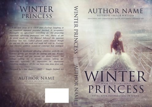 Winter Princess - Cover Art by SimplyDefinedArt