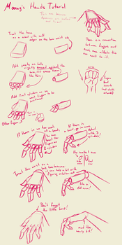Hands lazy tutorial by Moony-Bunny