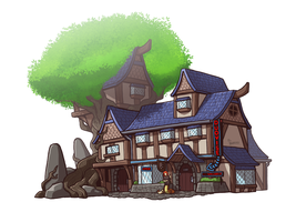 Urth: The Duovise Inn by Blazbaros