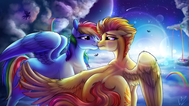 We own the Skies by LupiArts