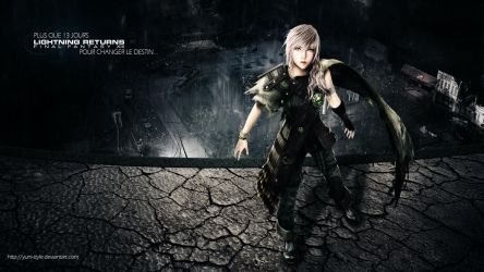 Lightning Returns - Shadow Dust Wallpaper by Illusiv-Fr