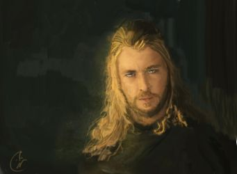 Thor the God of Thunder by IRCSS