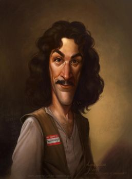 Inigo Montoya by Rembrandt by Loopydave