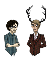 Will and Hannibal by bribritenma