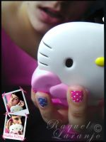The hello kitty mirror by moOnxinha