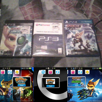All of my Ratchet and Clank games by MOTLEYLOMBAXCRUE666