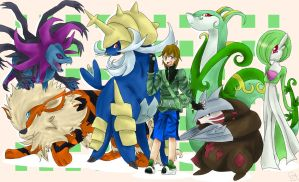 .:CM:. Hunter's Pokemon Team