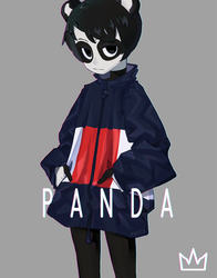 Tower Girls - Panda by vSock