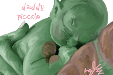 Daddy Piccolo by TheFemaleNamek