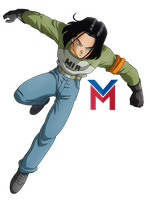 Dragon Ball Super - Android 17 by VictorMontecinos