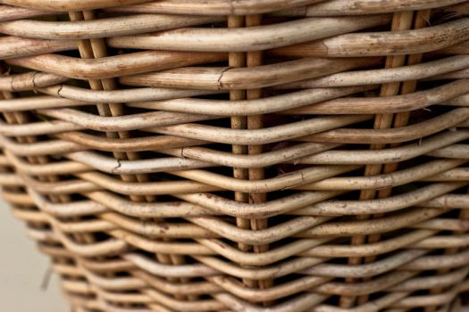 Wicker Basket Close Up by hhjr