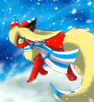 Running through the Snow by CuteFlare