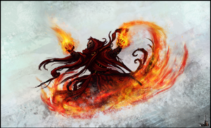 Fire Mage by Narcotic-Nightmares