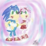Sonamy Hug by AliceAcorn6003