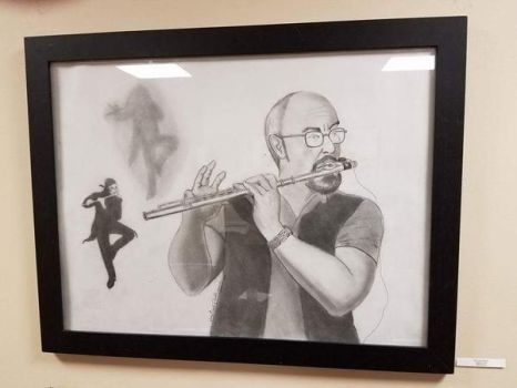 Jethro Tull's Ian Anderson in Frame by DavidFolkie