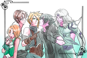 Final Fantasy Contenders by uekiOdiny