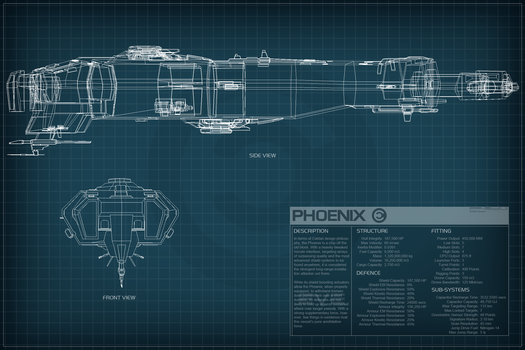 EVE Online Schematics by Titch-IX on DeviantArt