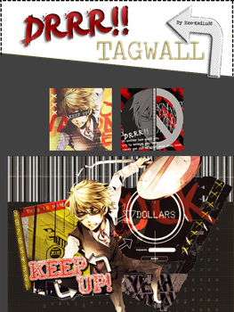 -Tag Wall- DRRR! by Exo-KaiLu88
