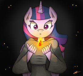 Light in the Dark by Wolfy-Pony