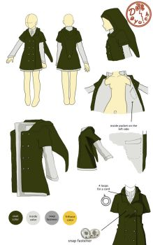 Link Coat by Dayu