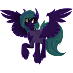 Shadow Craft my MLP OC by dispelimagines